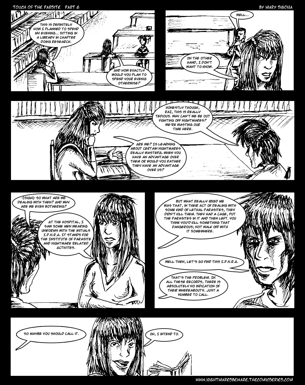 Touch of the Parasite: Part 6